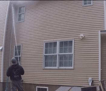 House Wash Detergent Neutralization